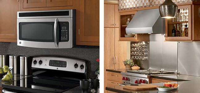 Over The Range Microwave Or Residential Hood Installation